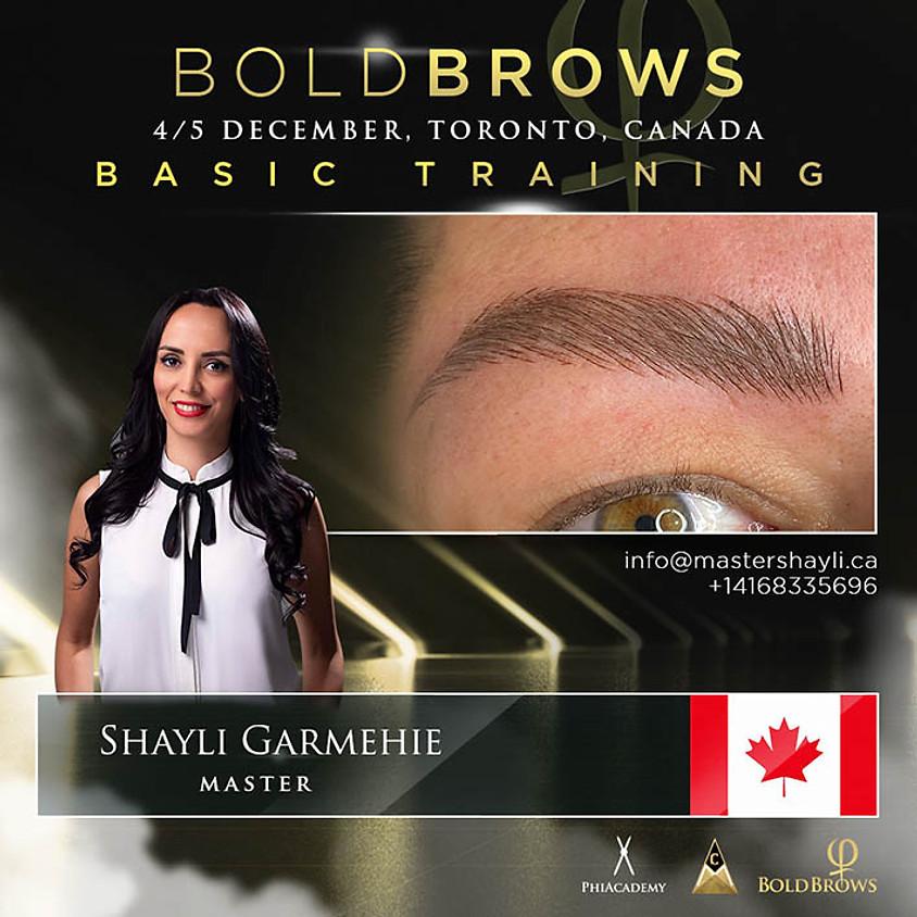 BoldBrows Training Toronto Dec 2020