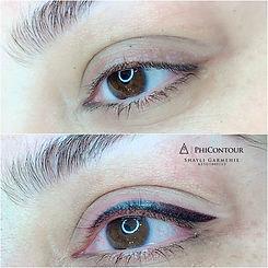 eyeliner modeling
