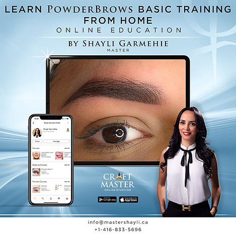learn powder brows online