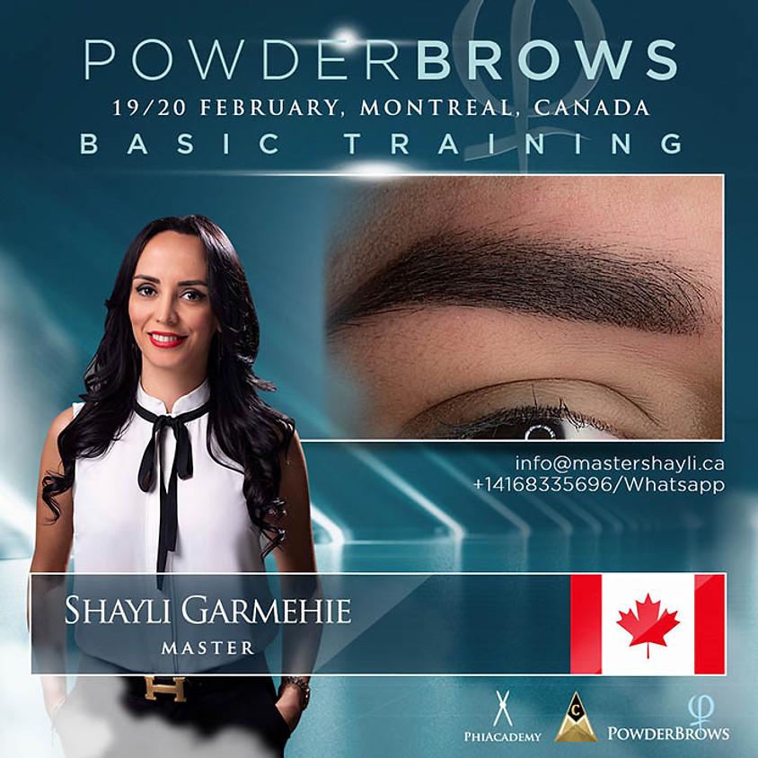 Powder Brows Montreal Training Feb 2021