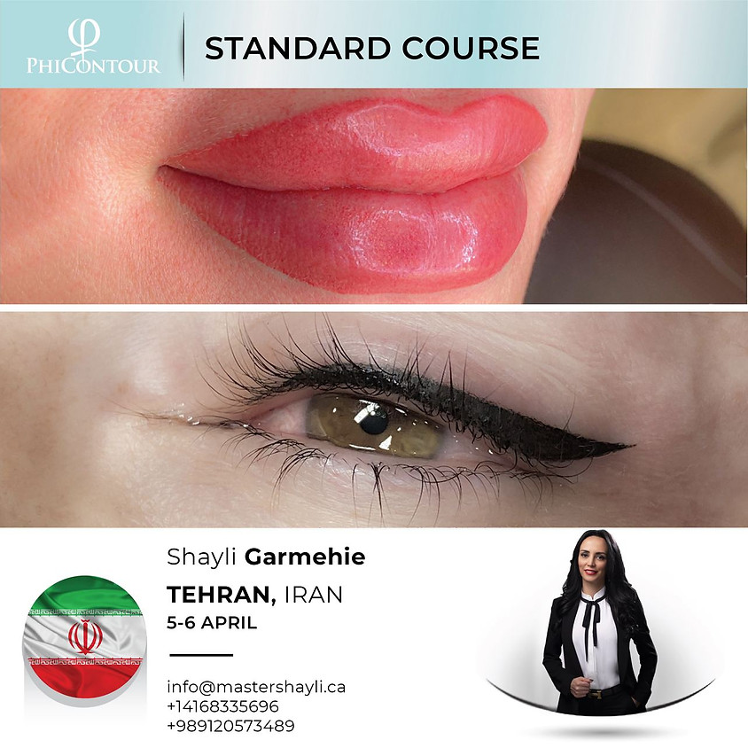 PhiContour Standard Course Tehran April 2021
