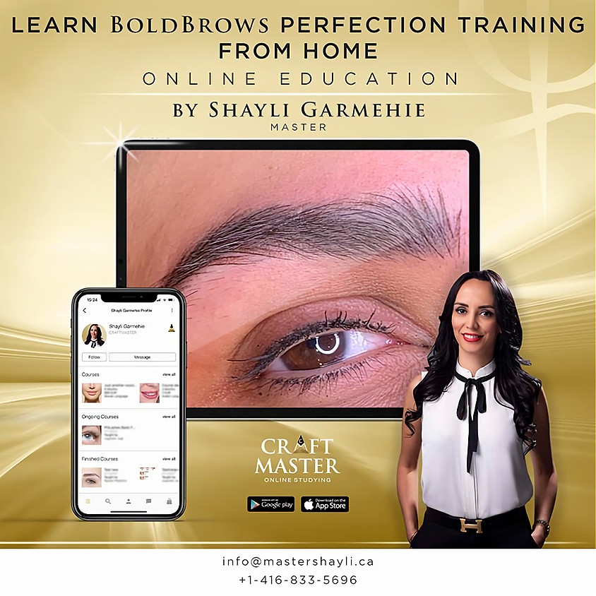 Bold Brows Online Perfection Training