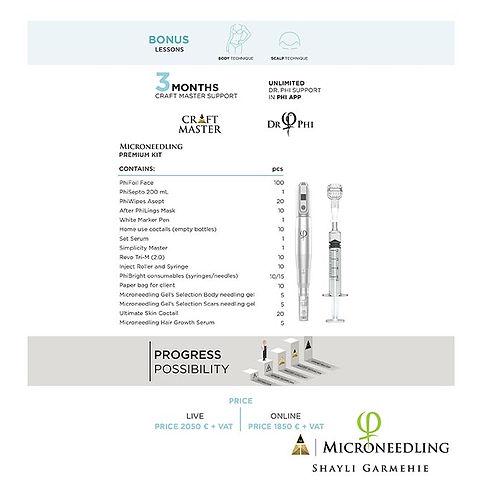 Microneedling-PhiBright Bonus Lessons