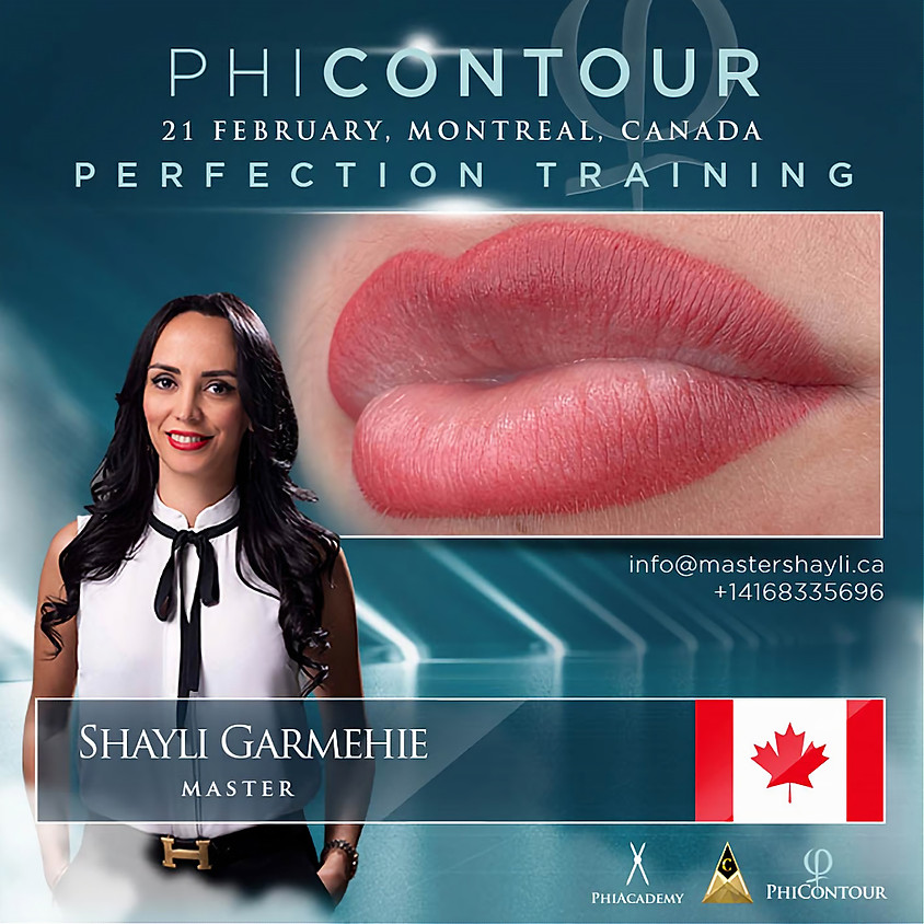 PhiContour Perfection Training Montreal February 2021