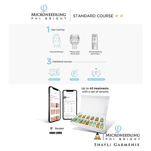 Microneedling PhiBright Standard Course