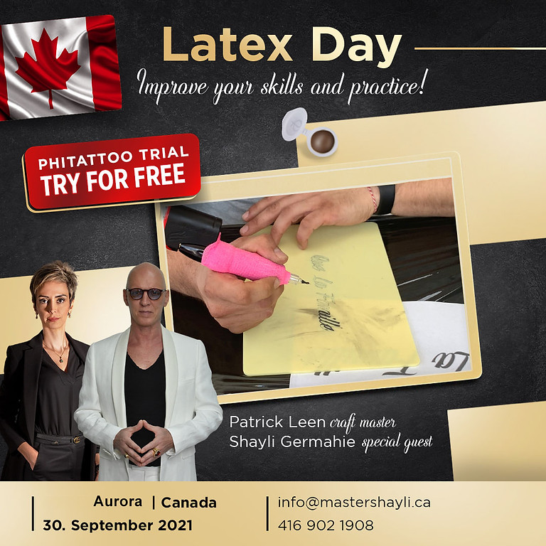 Latex Day! PhiTattoo Trial - Try it for Free
