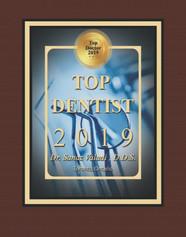 Top Dentist 2019 Dr. Sanaz Valadi