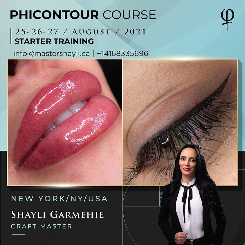 PhiContour Workshop New York, USA Aug 2021