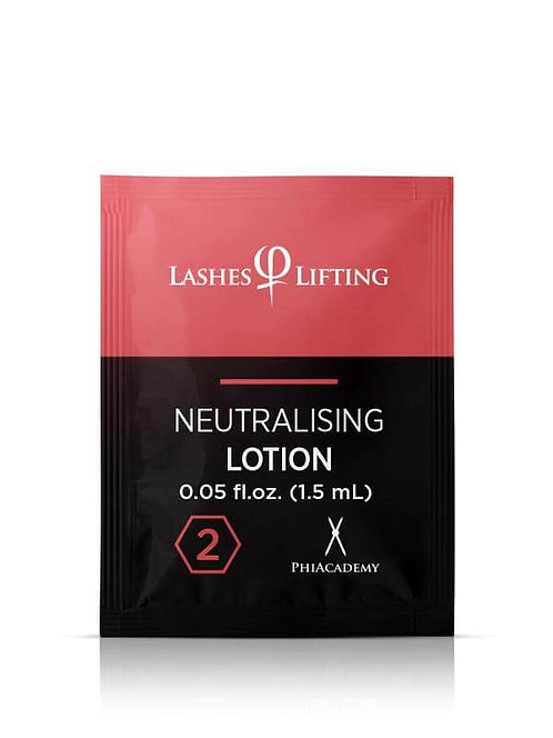 LASHES LIFTING NEUTRALISING LOTION SACHETS 1,5ML 10PCS