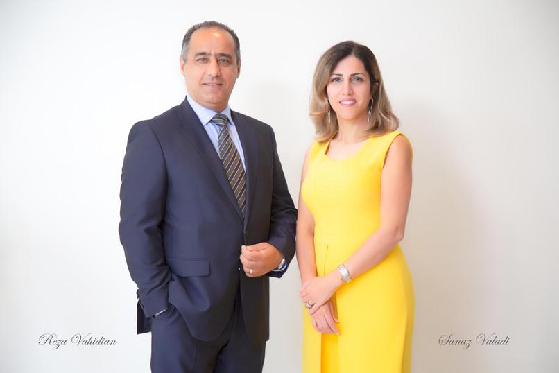 Reza Vahidian & Sanaz Valadi