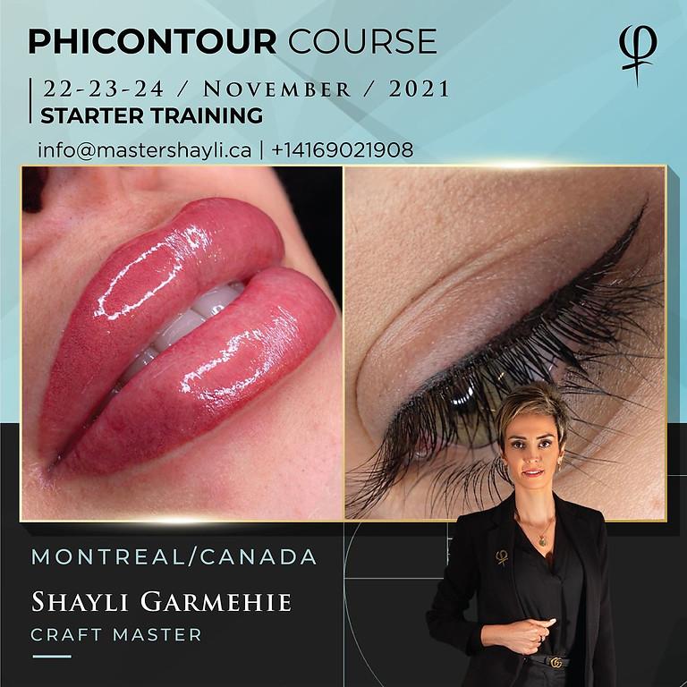 PhiContour Starter Course Workshop Montreal