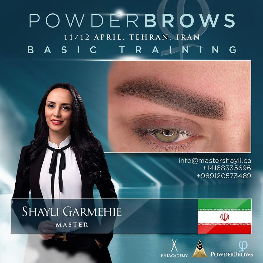 Powder Brows Tehran Training April 2021