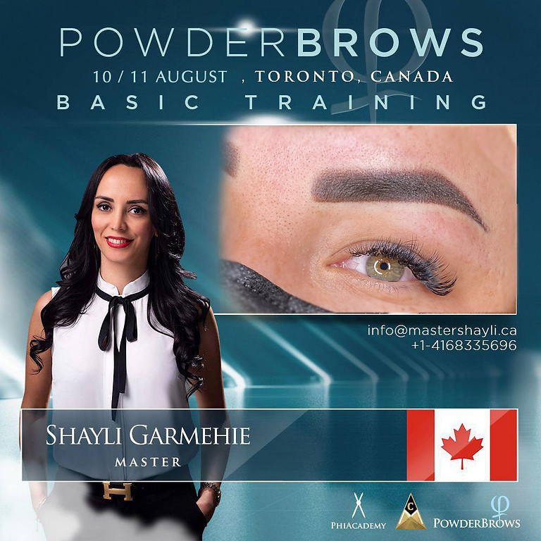 Powder Brows Toronto Training August 2021