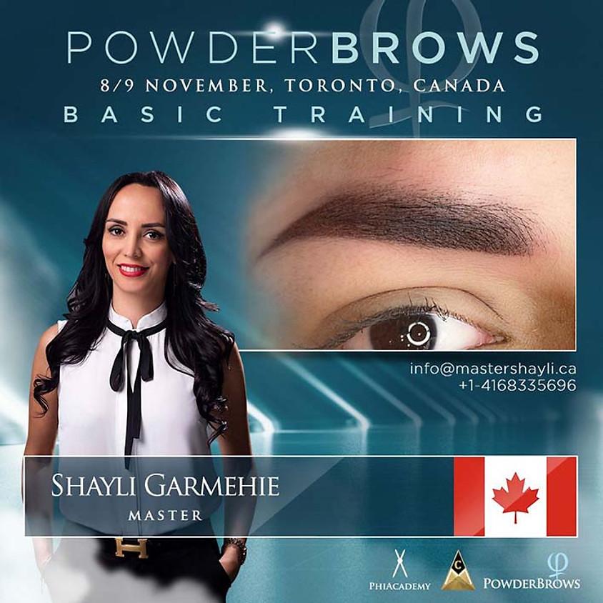 Powder Brows Toronto Training 2020
