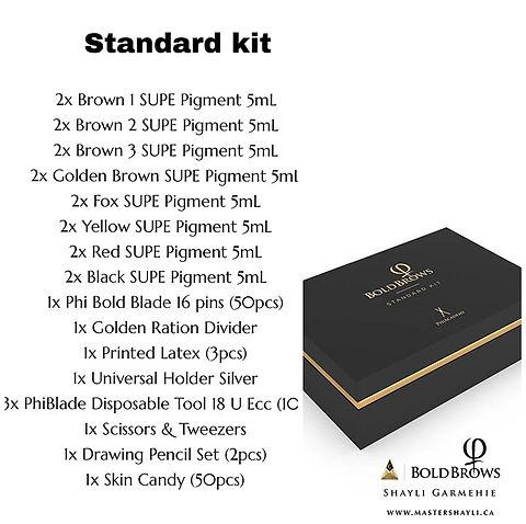 Bold Brows Standard Kit