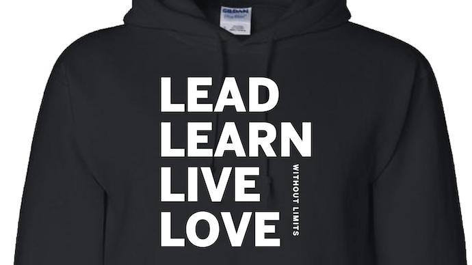 Lead. Learn. Live. Love Hoodie