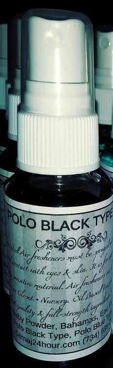Polo Black Type Air-Freshening Spray