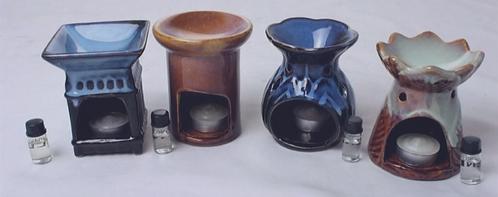 Porcelain Oil Burners-Assorted