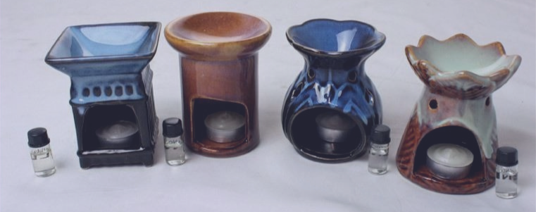 Porcelain Oil Burners-Assorted