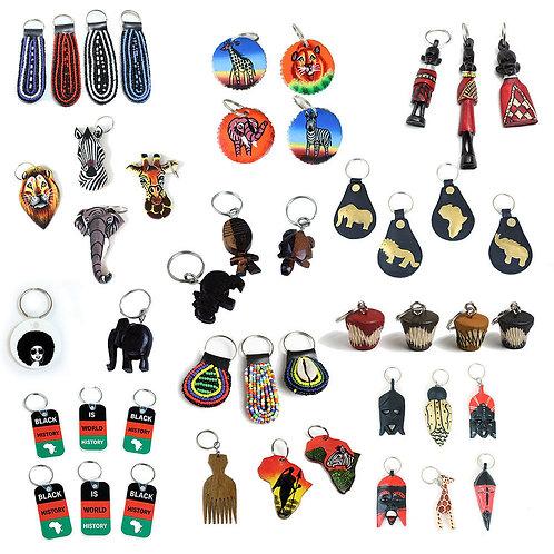 Black Pride Key Chains
