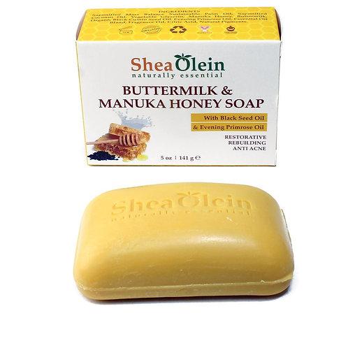 Buttermilk & Manuka Honey Soap-Shea Olein