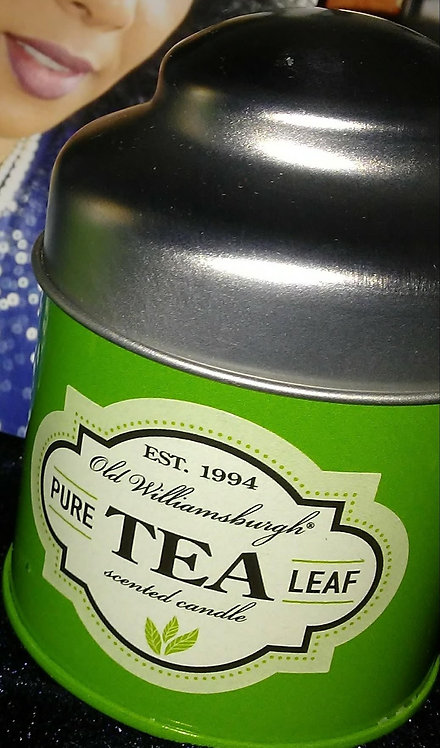 Pure Tea Leaf-candle