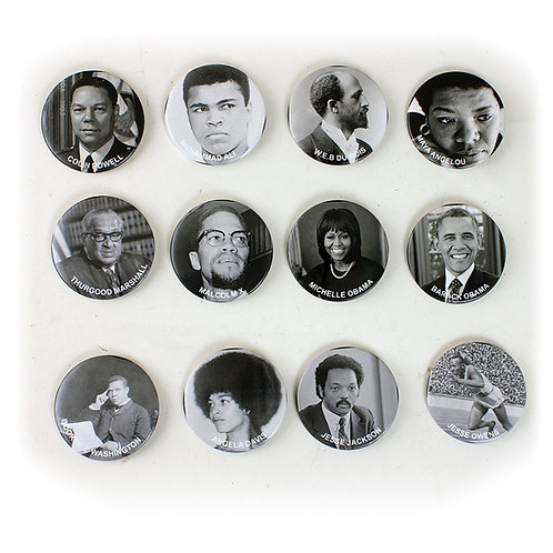 Black Pride Buttons