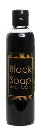 Liquid Black Soap/Body Wash - 8 oz.