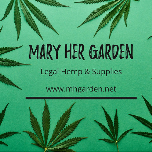Mary Her Garden CBD Products
