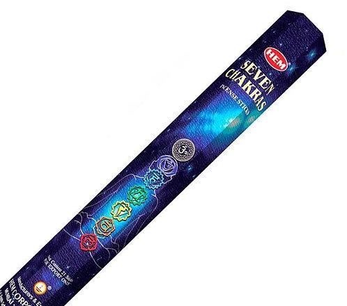 Hem Seven Chakra Incense