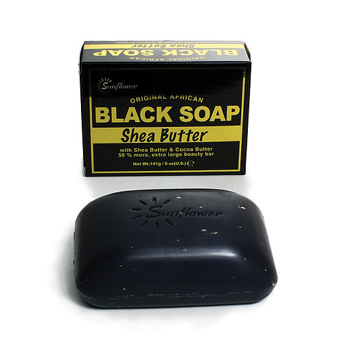 Shea Butter Black Soap