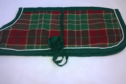 Dog Coat brushed cotton fleece lining
