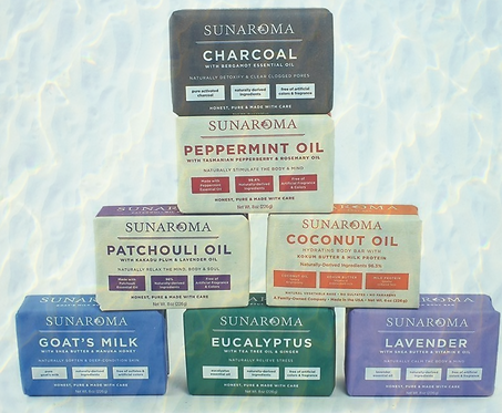 Soaps from Sunaroma
