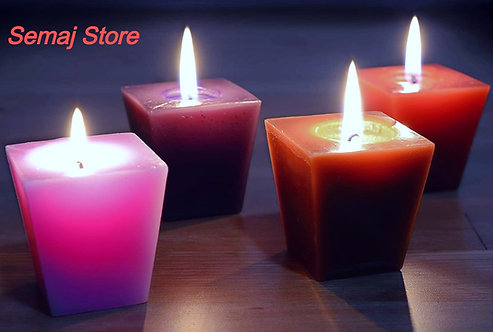 Scented Votive Candles for relaxation & aromatherapy