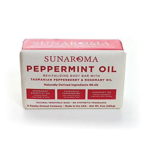 Peppermint Soap with Tasmanian Pepperberry & Rosemary Oil