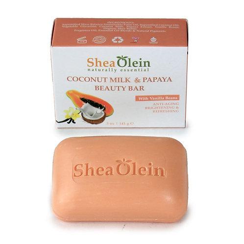 Coconut Milk & Papaya Soap-Shea Olein