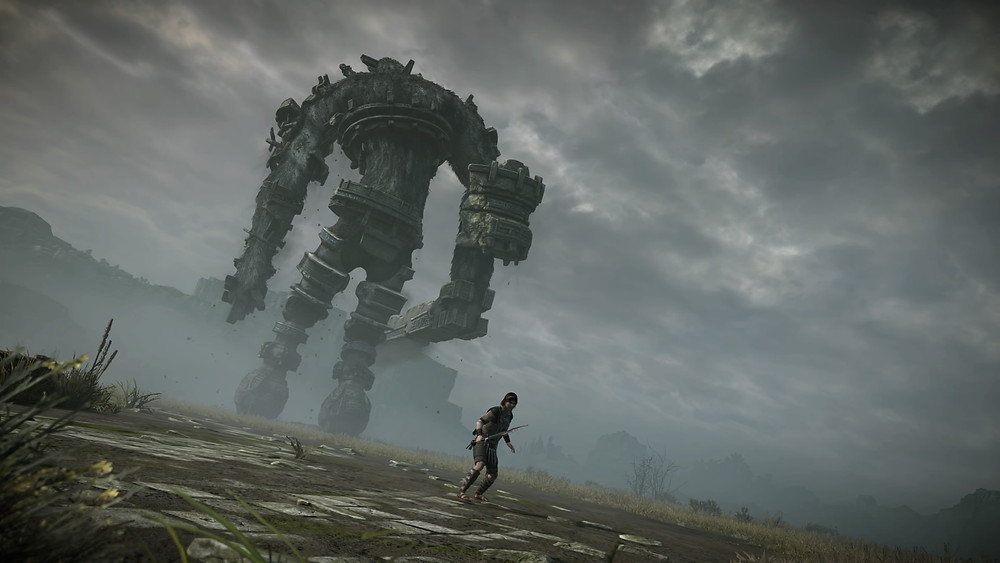 Shadow of the Colossus, Wander, Third Colossi, Colossi, Perspective, Fight, Gaming