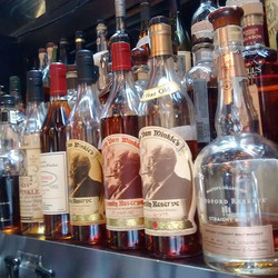 Just another great day for #bourbon _marketplace_restaurant #pappy #vanwinkle #woodfordreserve #papp