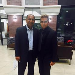 Rudy with La Sierra's Dean