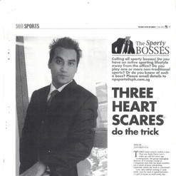 Rudy Pierre Low on Straits Times Newspaper