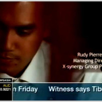 Rudy on Channel News Asia Television Network