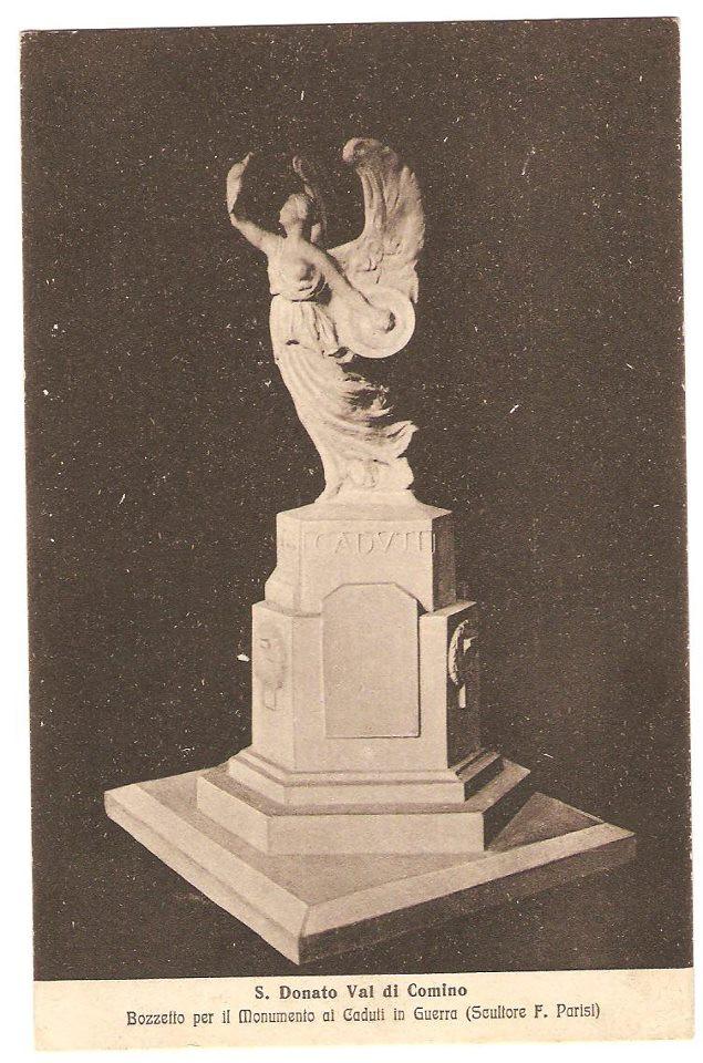 Il monumento ai caduti di San Donato Val di Comino