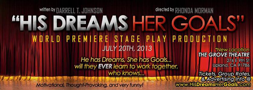 HIS DREAMS, HER GOALS- POSTER