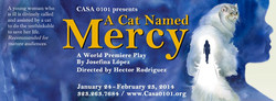 CAT NAMED MERCY- POSTER
