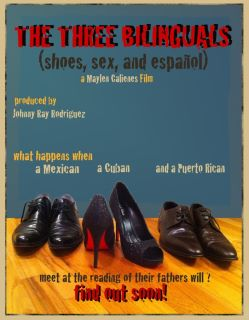 THE 3 BILINGUALS- POSTER