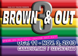 BROWN & OUT- POSTER OPENING