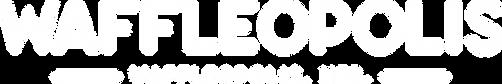 Waffleopolis Logo Wordmark White.png