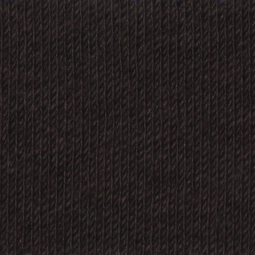 Cotton Interlock - dark brown (Qual. 308/4308)