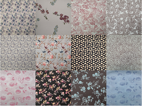 Special fabrics - coupon of 2 meters - limited edition