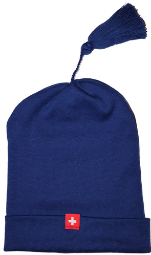 Jelly bag cap SWISS EDITION - royal
